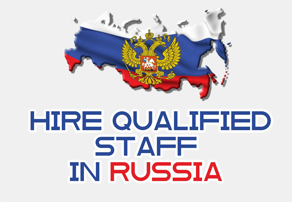Hire staff in Russia